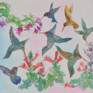 Cirigliano watercolor painting