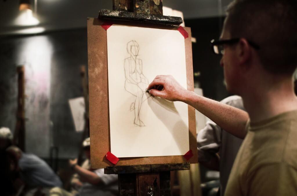 Open Sketch Art Students League