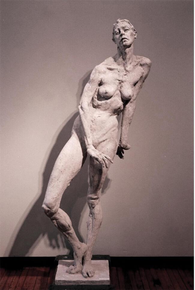 Arslan Clay sculpture