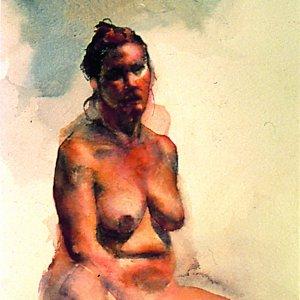 Naomi Campbell Painting