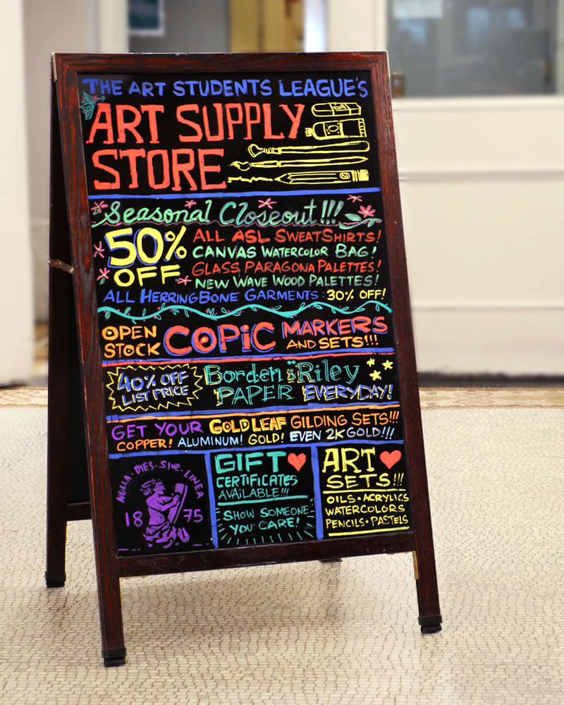 the league s art supply store nyc art supply store for studio